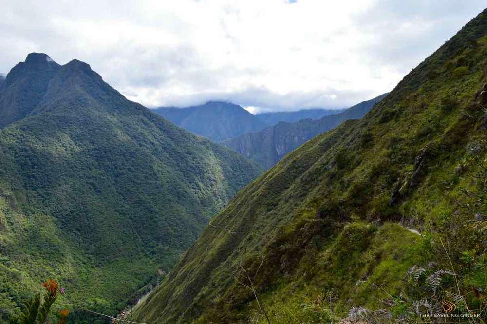 INCA TRAIL CONTIKI PERU PANORAMA