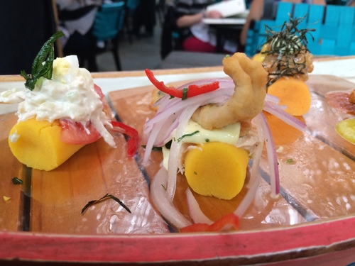 What to eat in Peru: La Causa