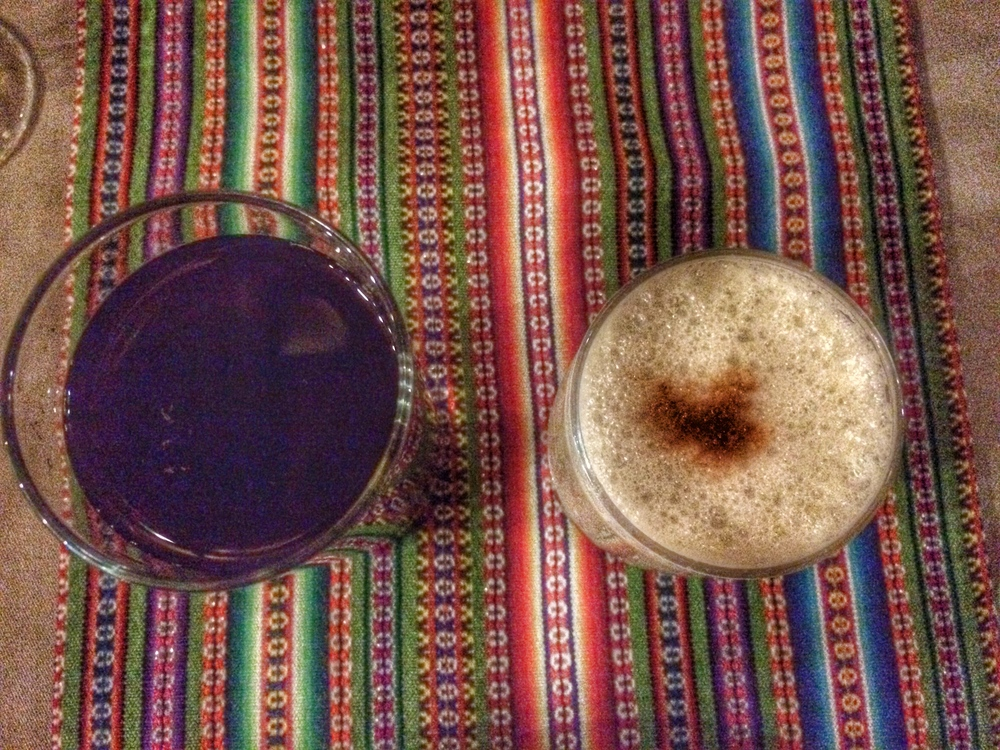 What to Drink in Peru: Chica Morada and Pisco Sour