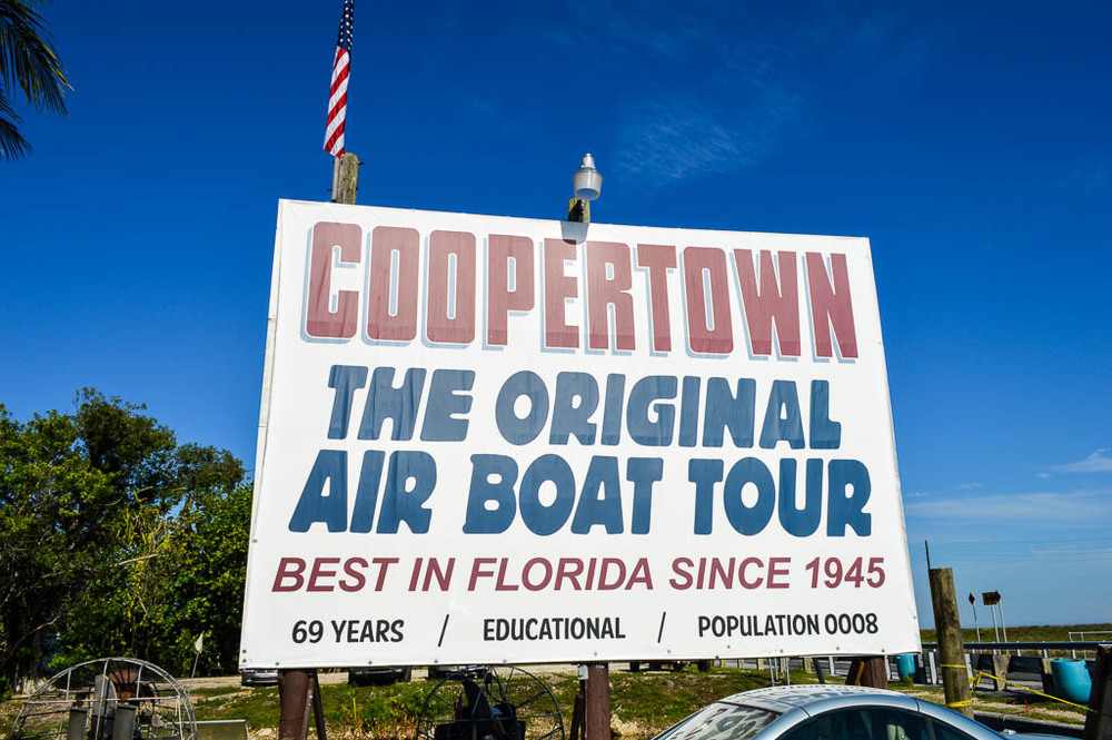 EXPLORING THE EVERGLADES: COOPERTOWN AIR BOAT TOUR