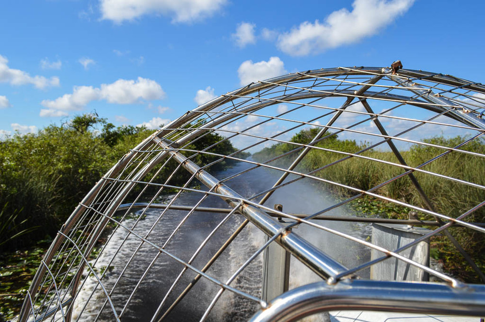 EXPLORING THE EVERGLADES BY AIRBOAT