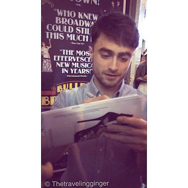 DANIEL RADCLIFFE IN NEW YORK CITY BROADWAY