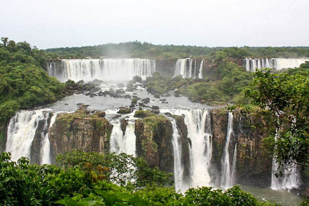 Iguazu falls - photograph by kirsty,  what kirsty did next