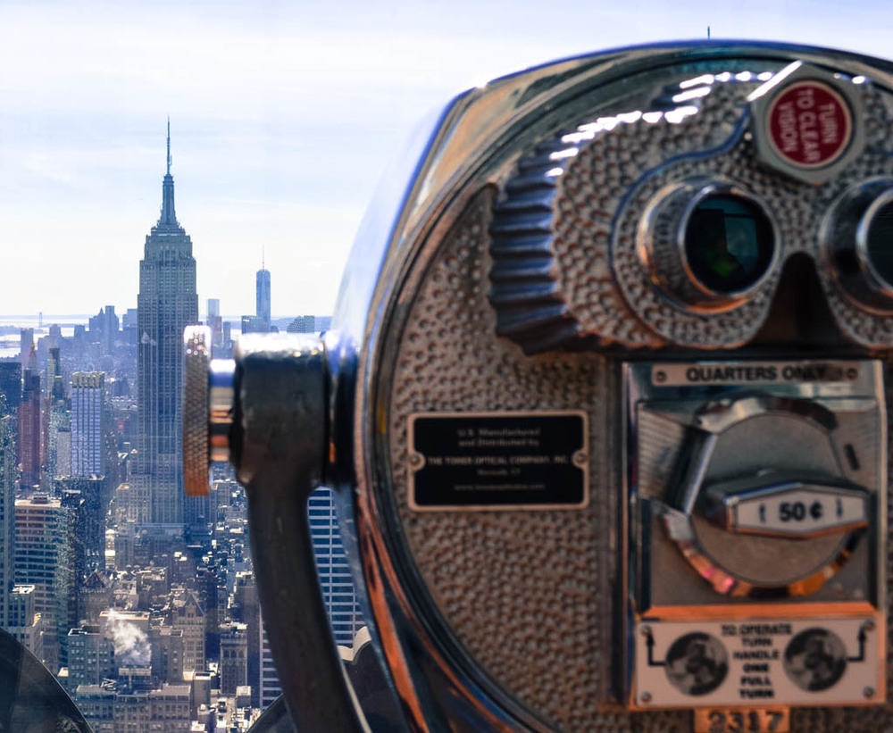 Things to do in New York City: See the Empire State Building from Top of the Rock
