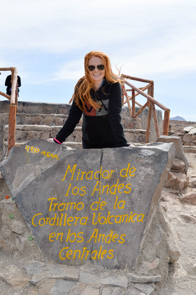THINGS TO DO IN AREQUIPA: Mirador de Los Andes Peru
