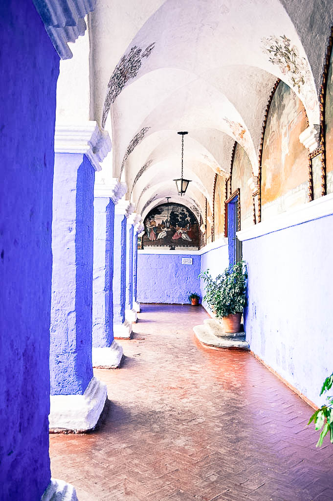 THINGS TO SEE AREQUIPA PERU: MONASTERIO DE SANTA CATALINA