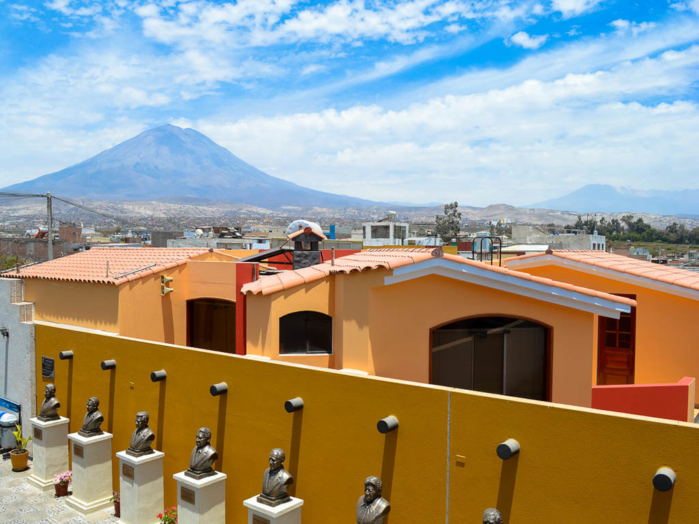 THINGS TO   SEE AREQUIPA PERU:  Mirador de yanahuarra viewpoint