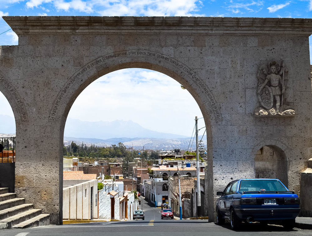 THINGS TO SEE AREQUIPA PERU: mirador de yanahuarra