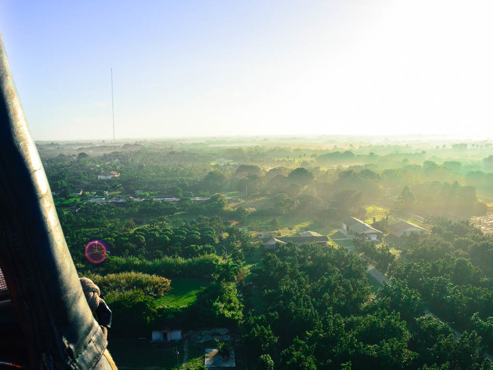 HOT AIR BALLOON RIDE IN MIAMI FLORIDA: SUNRISE VIEWS