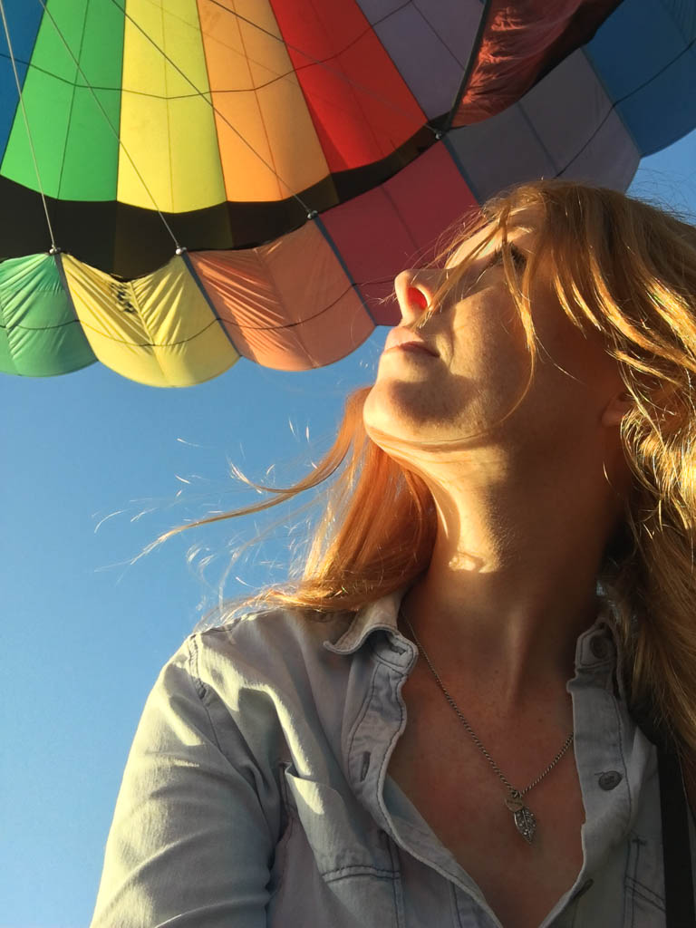 HOT AIR BALLOON RIDE IN MIAMI FLORIDA: THE TRAVELING GINGER