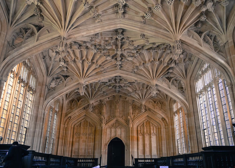 one of the harry potter filming locations at oxford university
