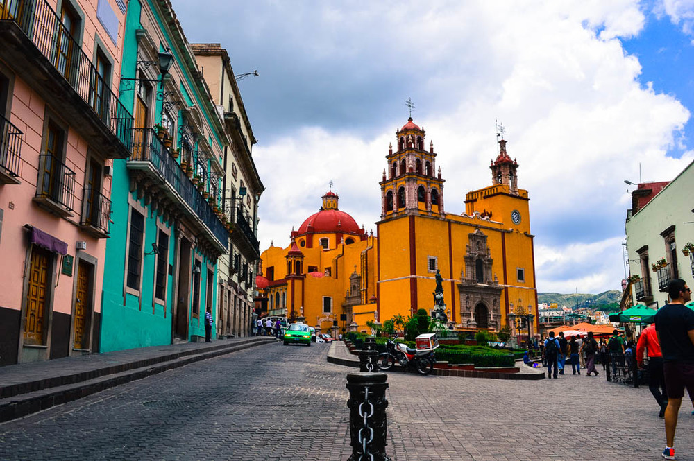 WALKING TOUR GUANAJUATO, MEXICO:Cathedral Basilica Nuestra Señora de Guanajuato
