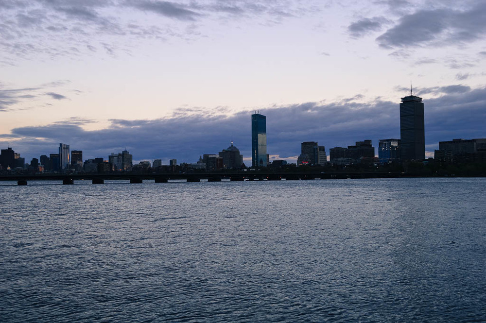 BOSTON CITY SKYLINE MASSACHUSETTS NEW ENGLAND ROAD TRIP