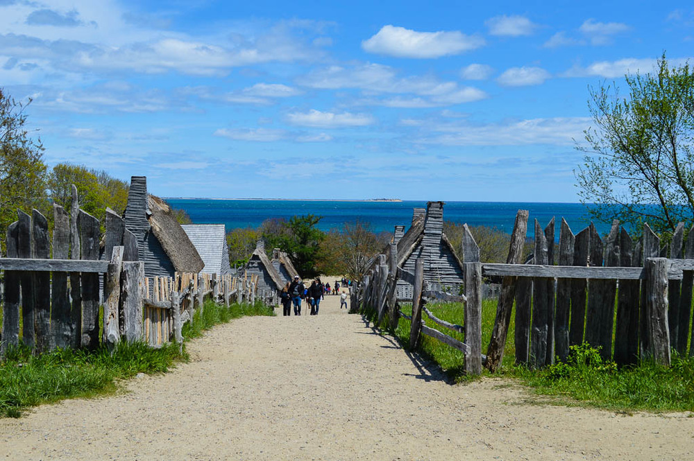 PLIMOTH PLANTATION MAssachusetts new england road trip