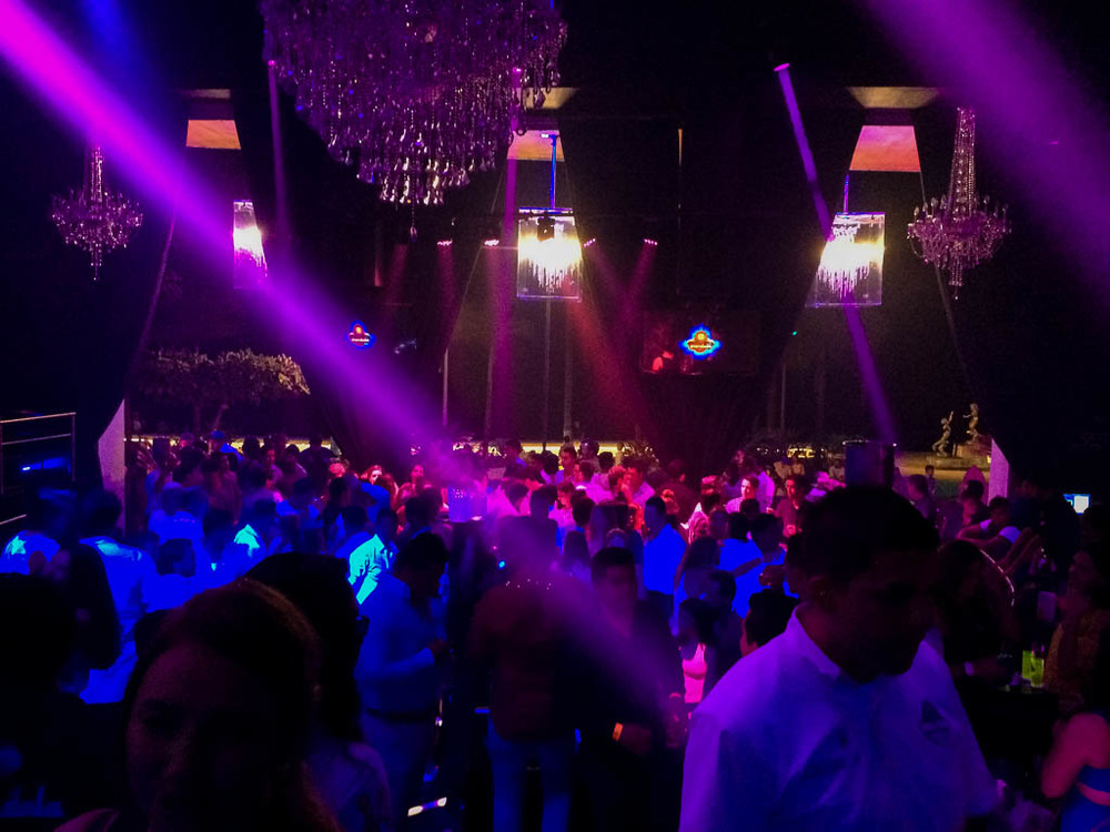 THE BEST CLUB IN PUERTO VALLARTA MEXICO IS THE MANDALA CLUB