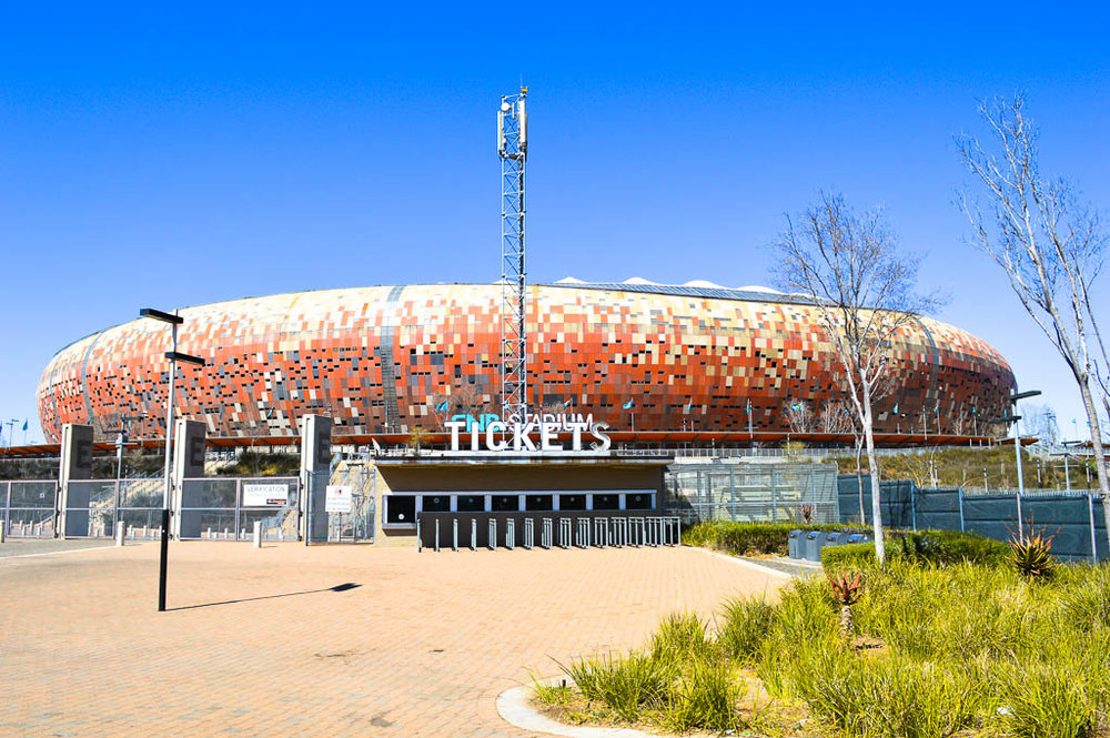 The Soccer City FNB Stadium