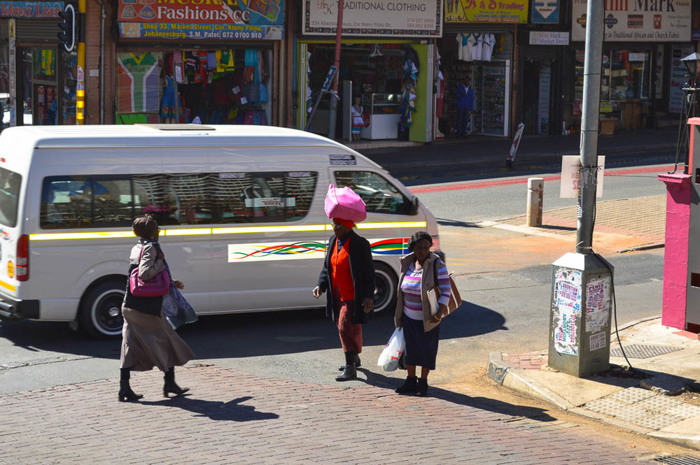 Daily life in Jozi