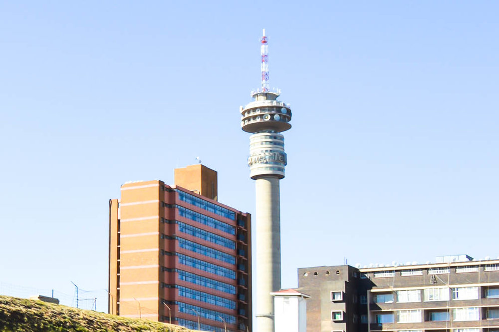 The Hillbrow Tower from Constitution Hill