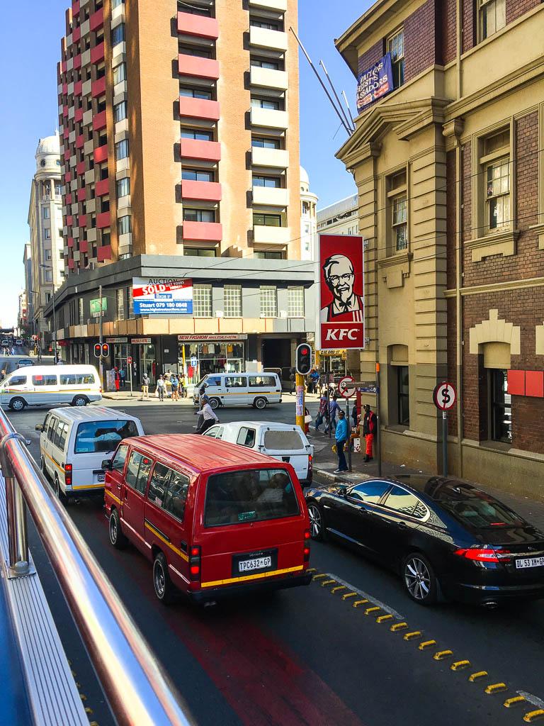 Rush hour Johannesburg
