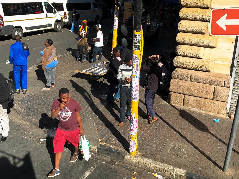 Scenes of Johannesburg