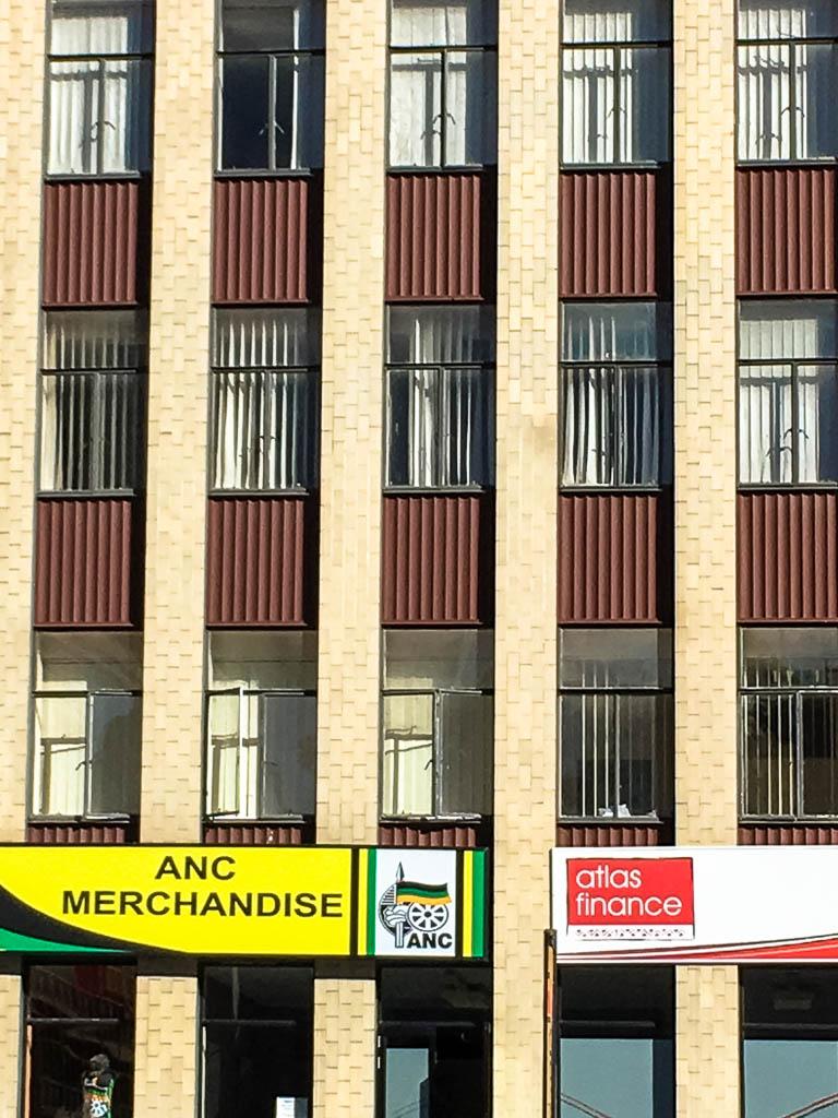 ANC Merchandise Building in Gandhi Square