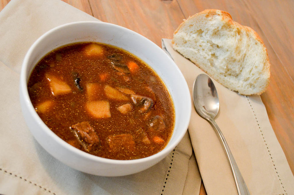eat the world: hungarian goulash