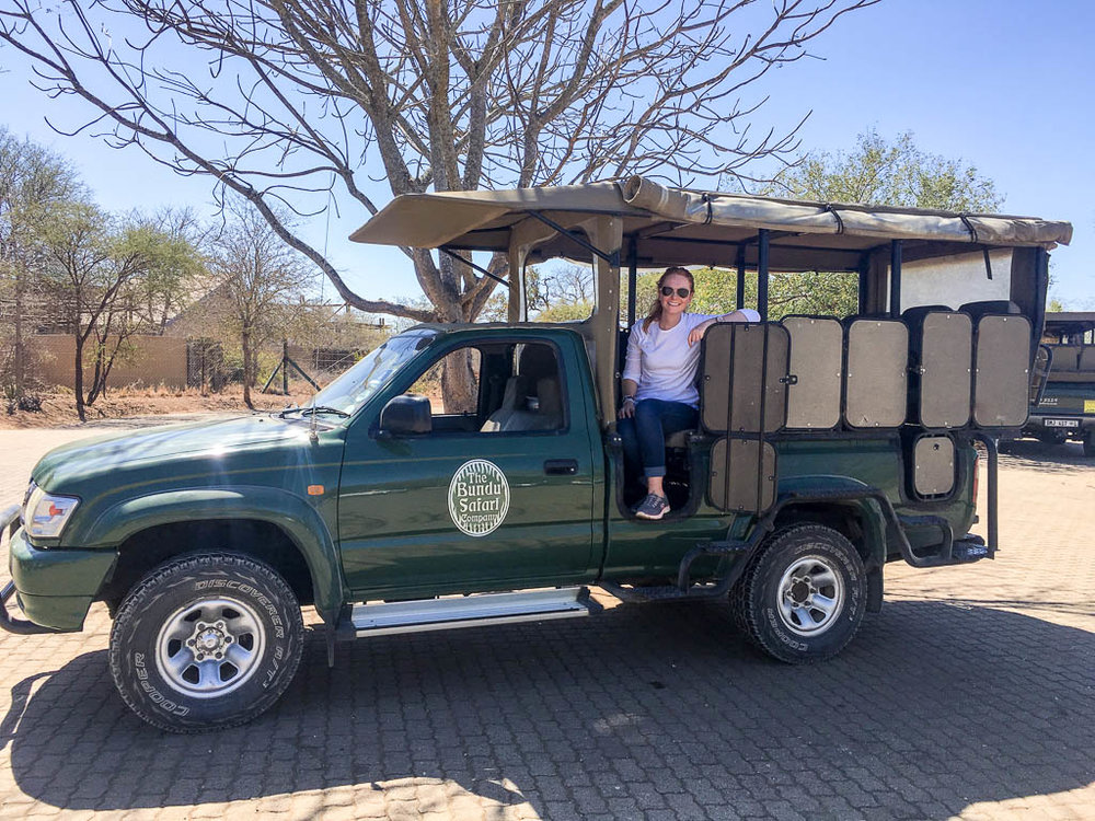SAFARI TRUCK IN THE KRUGER