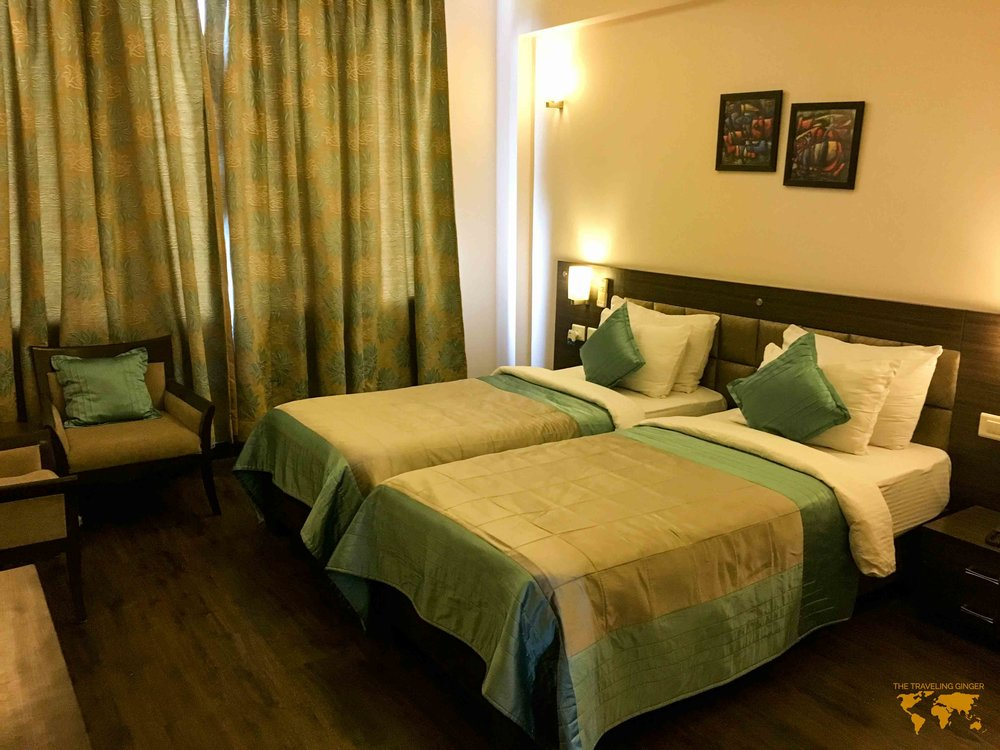 REVIEW OF THE RETREAT HOTEL IN AGRA INDIA