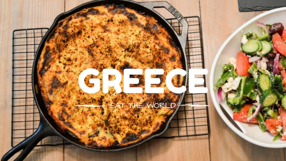 RECIPE FOR THE NATIONAL DISH OF GREECE: MOUSSAKA
