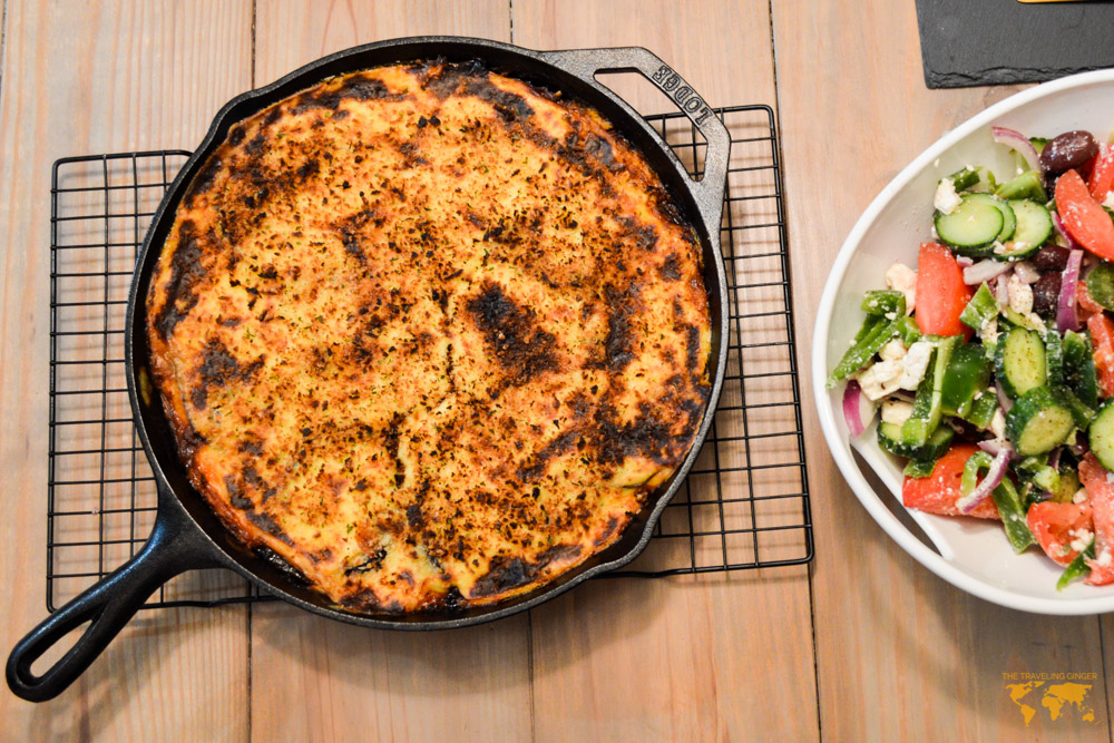 MOUSSAKA RECIPE FROM GREECE
