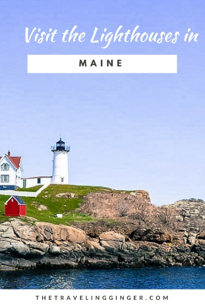 SEE ALL THE LIGHTHOUSES IN MAINE, USA: nubble lighthouse