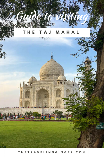 guide and tips for visiting taj mahal india