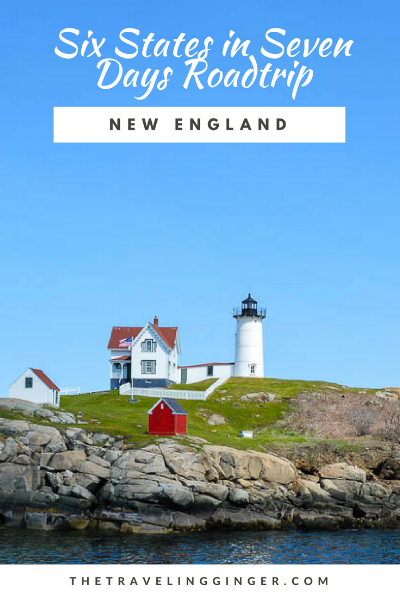 NEW ENGLAND ROAD TRIP ITINERARY