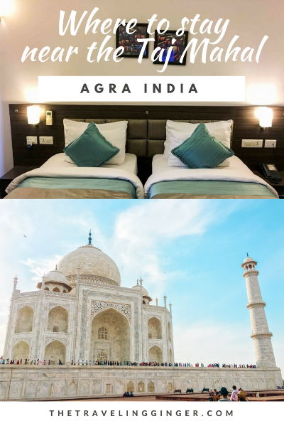 where to stay in agra india Taj Mahal