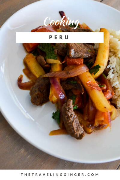 cook lomo saltado from peru recipe