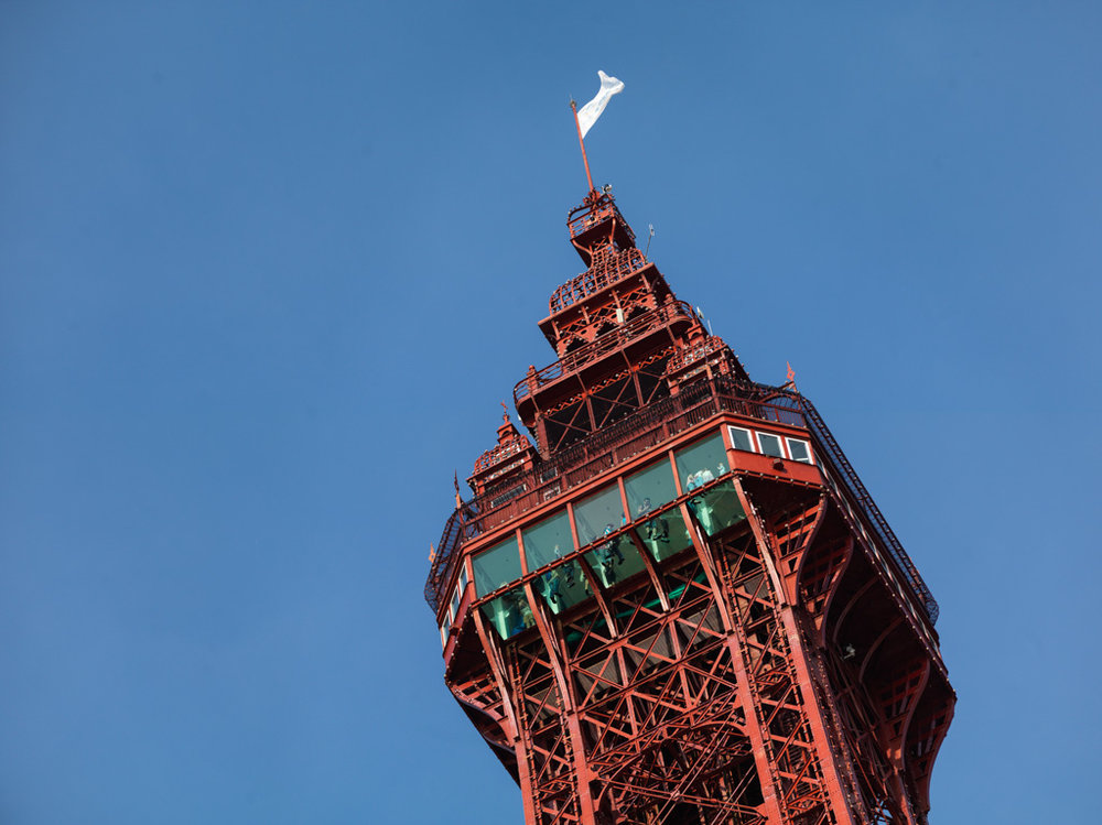 THINGS TO DO IN BLACKPOOL: THE BLACKPOOL TOWER. PHOTO COURTESY OF VISIT BLACKPOOL
