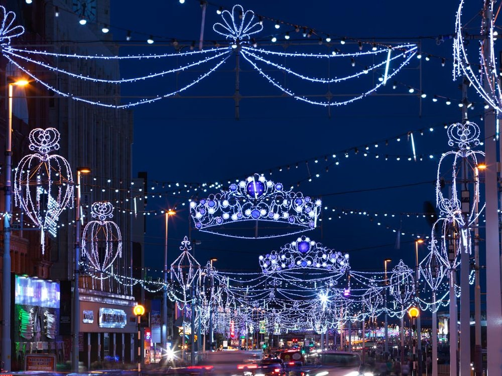 THINGS TO DO IN BLACKPOOL: BLACKPOOL ILLUMINATIONS. PHOTO COURTESY OF VISIT BLACKPOOL