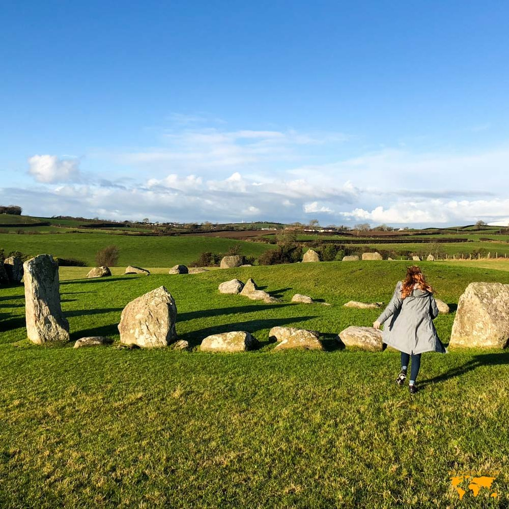 THINGS TO SEE IN NORTHERN IRELAND: BALLYNOE STONE CIRCLE