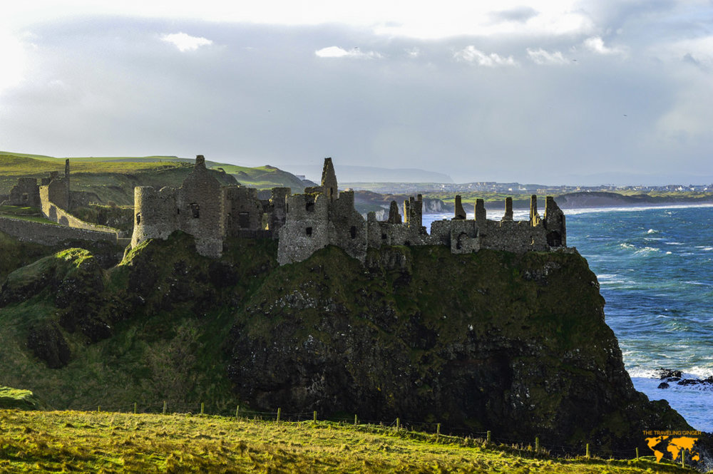 Travel to Northern Ireland and Dunluce Castle