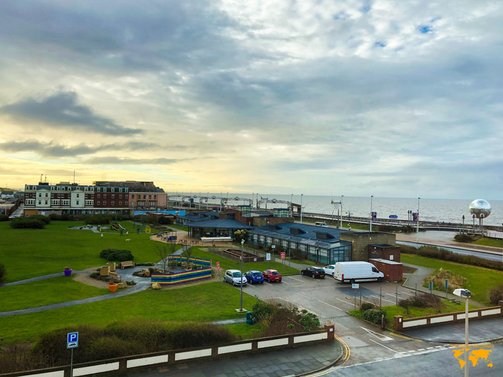 WHERE TO STAY IN BLACKPOOL: NUMBER ONE SOUTH BEACH HOTEL BALCONY VIEW