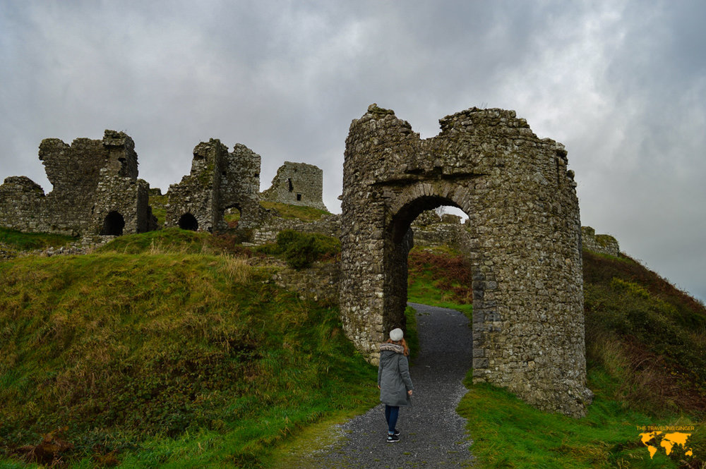 VISIT THE ROCK OF DUNAMASE, IRELAND