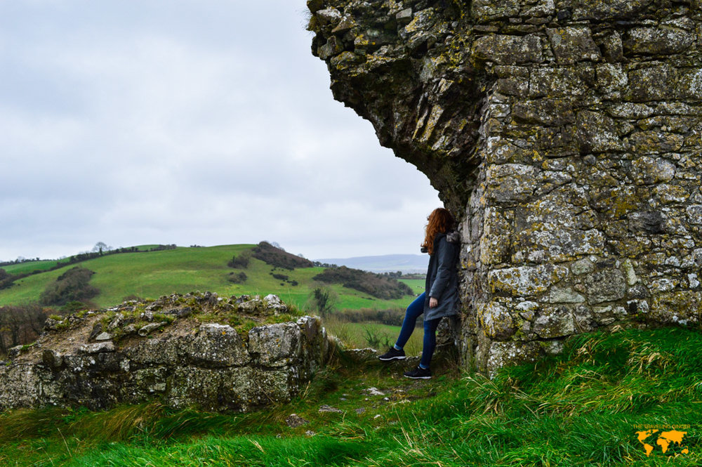 EXPLORING THE ROCK OF DUNAMASE, IRELAND