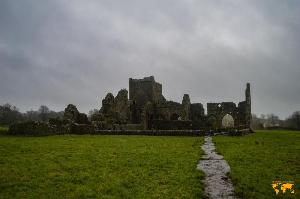hore abbey near the rock of cashel in ireland