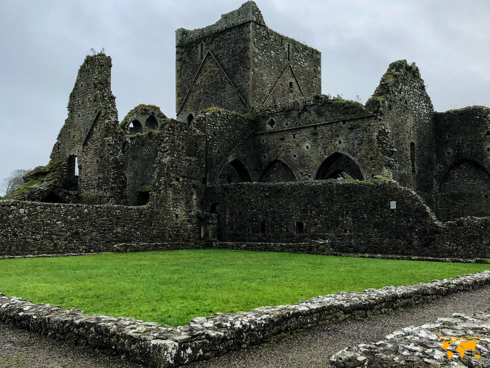 visit hore abbey near the rock of cashel in ireland