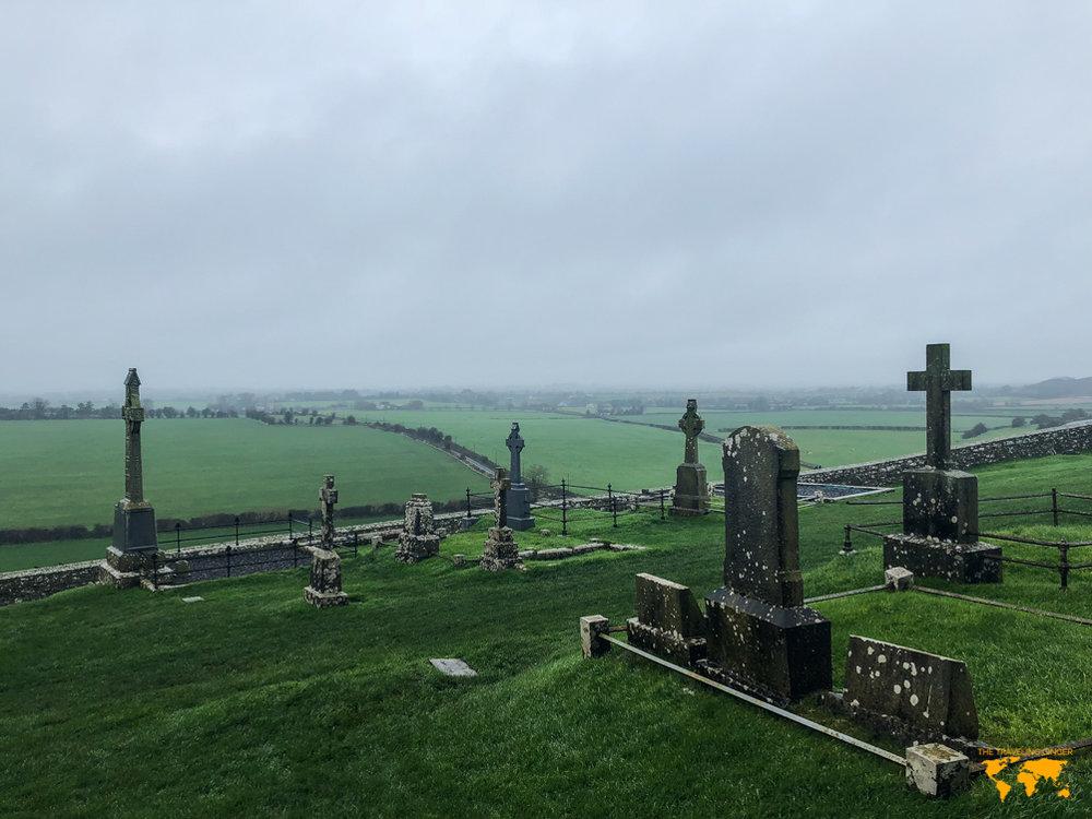 graveyard at rock of cashel ireland