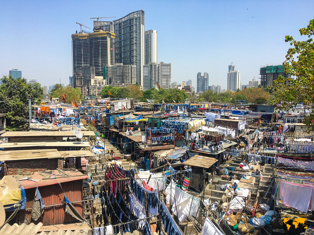 THE LARGEST OUTDOOR LAUNDROMAT IN THE WORLD: MUMBAI