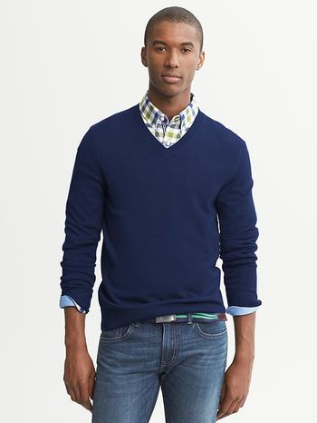 How To Wear Dress Shirt Under V Neck Sweater Ivo Hoogveld