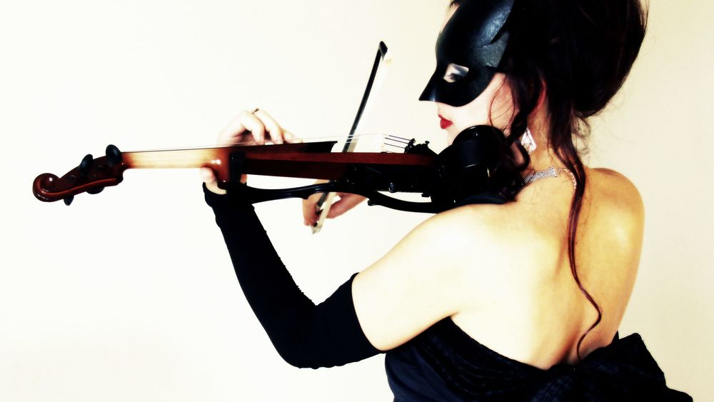 Zhenya Zianouka (pictured) was trained in Belarus and performs using the classical and electric violin. Her style combines classical favorites and contemporary music.