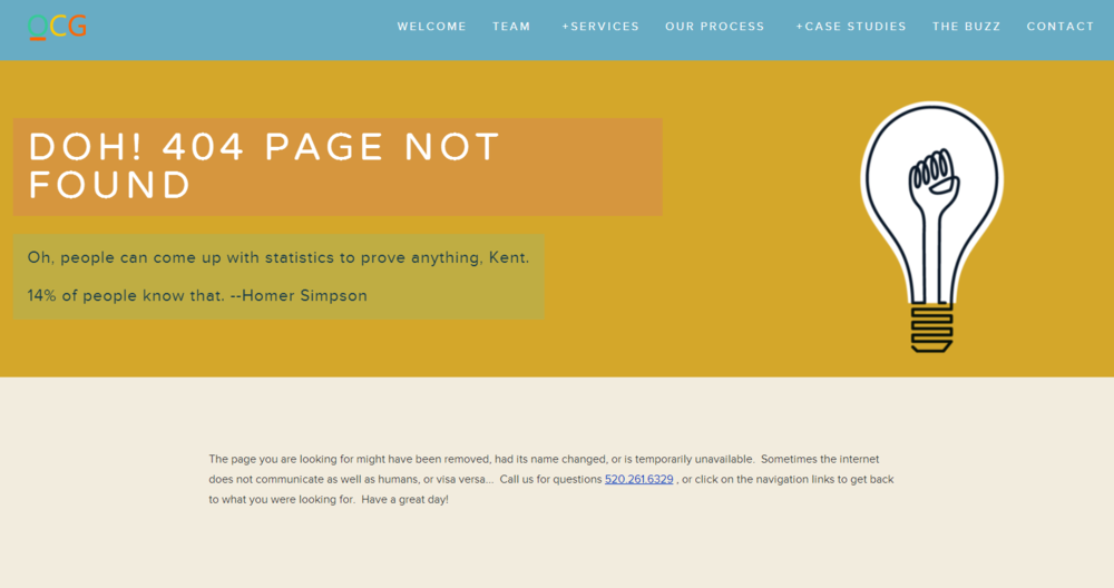 Detailed 404 Page