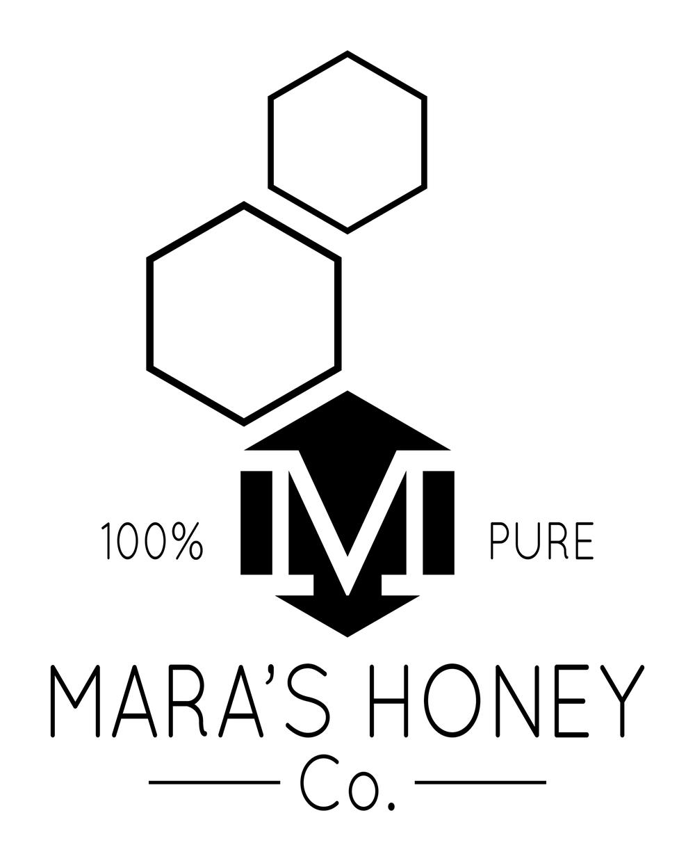 Mara's Honey Logo